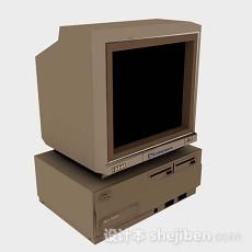 台式电脑显示器3d模型下载