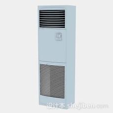 立式灰色空调3d模型下载