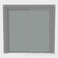 简单家居窗户3d模型下载