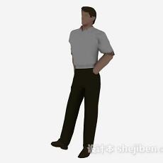 成年男性3d模型下载