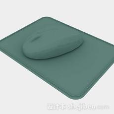 绿色鼠标3d模型下载