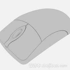 灰色鼠标3d模型下载