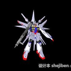 勇士变形金刚3d模型下载