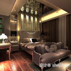 欧式卧室3d模型下载