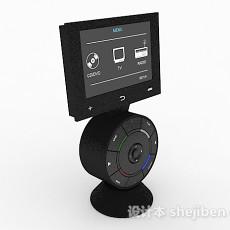 汽车音乐播放仪3d模型下载