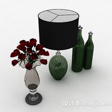 室内花瓶摆设品3d模型下载
