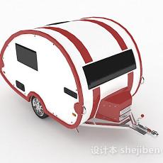 个性汽车车厢3d模型下载