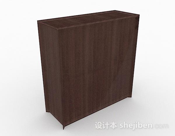 简约木质玄关柜