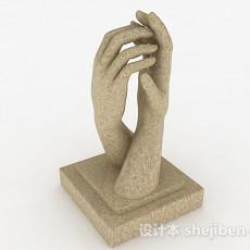 艺术雕塑品3d模型下载