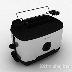 黑色厨房电器3d模型下载