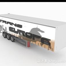 货车集装箱3d模型下载