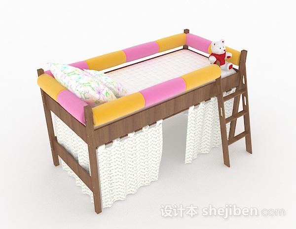 木质儿童床
