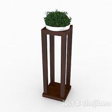 绿色室内盆栽摆设3d模型下载