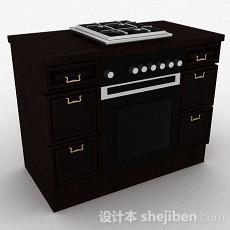 厨房煤气炉3d模型下载