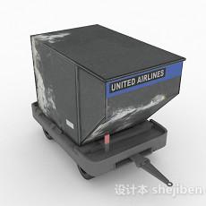 灰色车厢3d模型下载