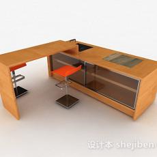 最新现代风格时尚简单单层橱柜3d模型下载