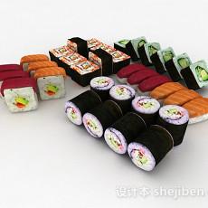 日式寿司3d模型下载