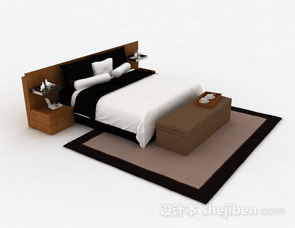 家居双人床