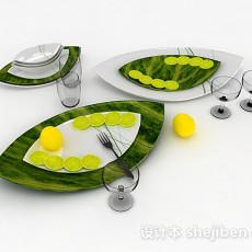 柠檬3d模型下载