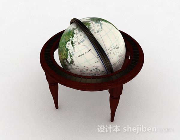 欧式风格地球仪模型