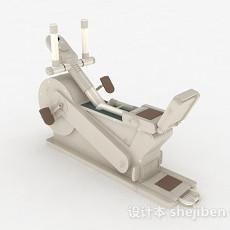 健身运动器材3d模型下载