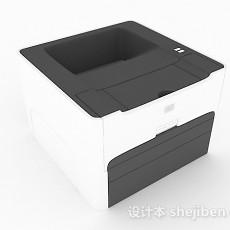 复印机3d模型下载