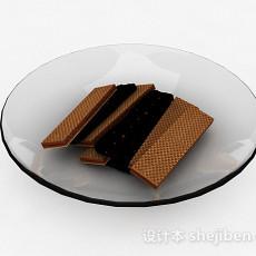巧克力威化饼干3d模型下载