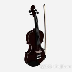 小提琴3d模型下载