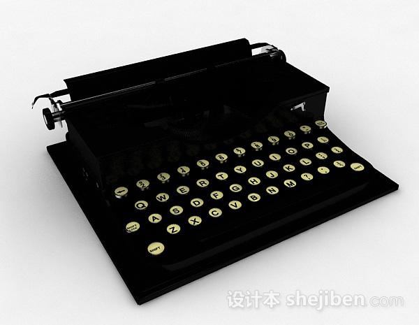 美式复古打字机