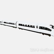 现代风格白色地铁3d模型下载
