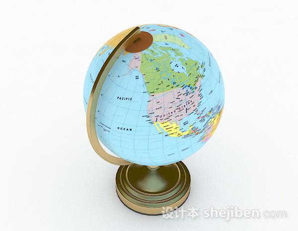 现代风格地球仪