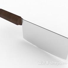 厨房菜刀3d模型下载