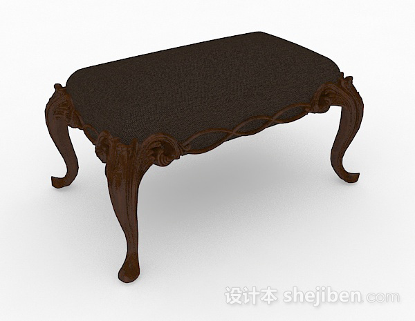 欧式家居沙发凳