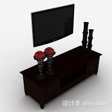 挂壁式电视机3d模型下载