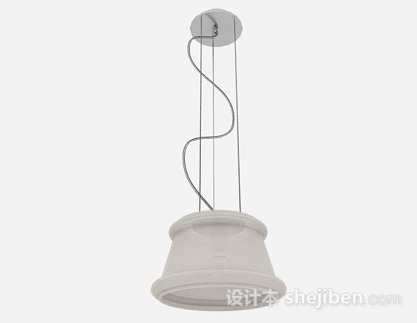 现代风格金属圆形吊灯