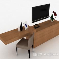 现代风格家居电视柜3d模型下载