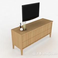黑色电视机3d模型下载