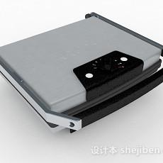 现代风格灰色电子秤3d模型下载