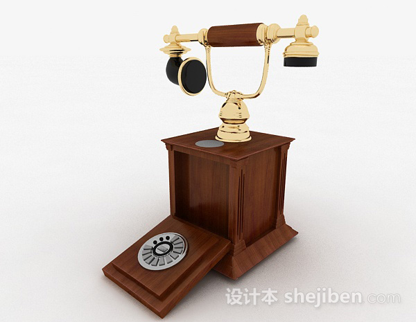 欧式复古电话机