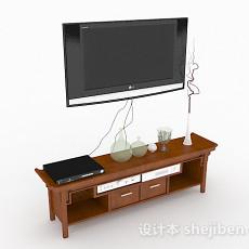 挂壁式液晶电视3d模型下载