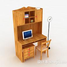 儿童书桌柜3d模型下载