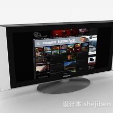 液晶电视机3d模型下载
