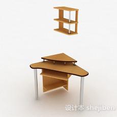 三角小书桌3d模型下载