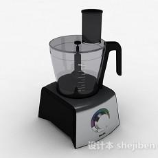黑色榨汁机3d模型下载