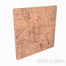 雕花瓷砖3d模型下载