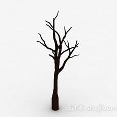 棕色树枝状家居摆件品3d模型下载