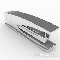 现代白色订书机3d模型下载