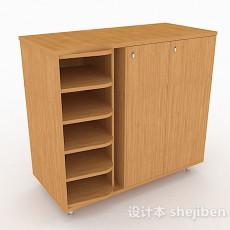 简约家居鞋柜3d模型下载