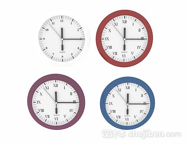 现代风格圆形时钟