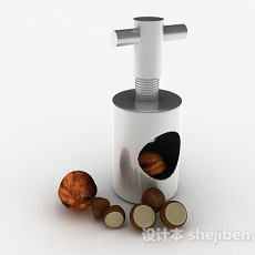 金属坚果去壳器3d模型下载